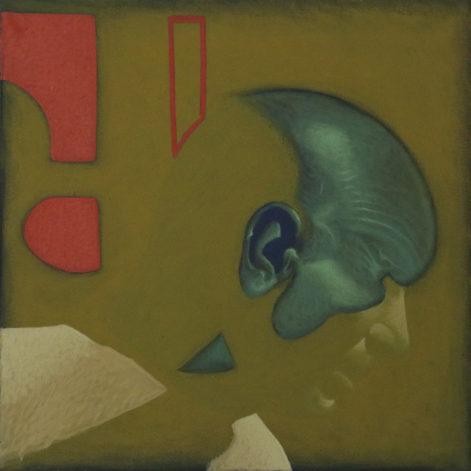 """Obraz """"Zanikanie"""", z cyklu """"portret"""", obraz figuratywny"""
