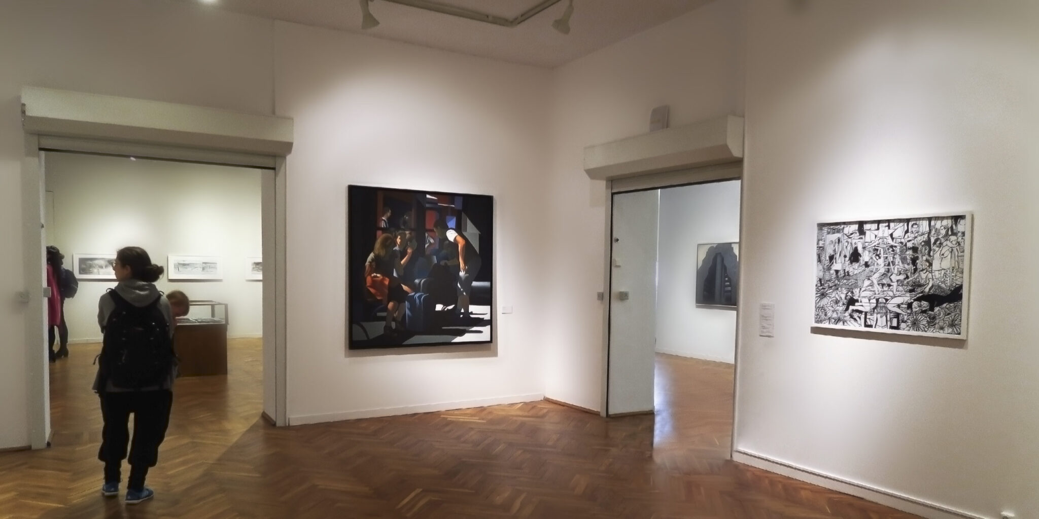 """Obraz """"Poczekalnia"""" w Muzeum Narodowego w Gdańsku"""