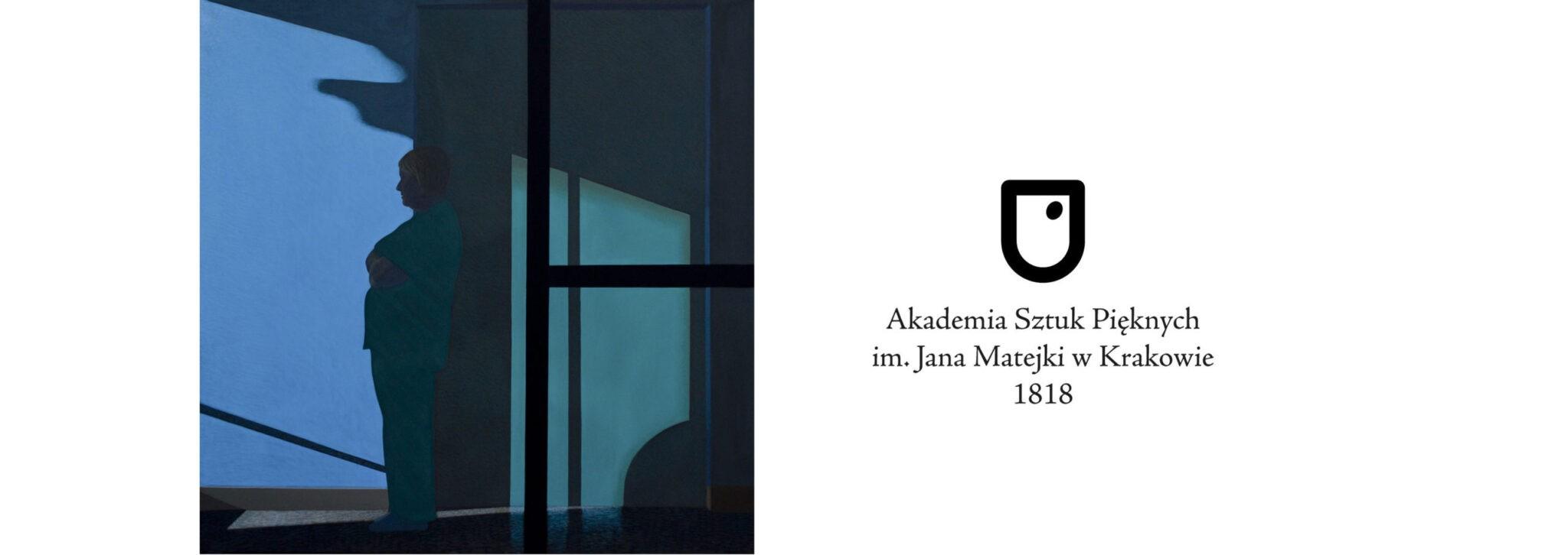 """Obraz """"Poczekalnia IV"""" w kolekcji Muzeum ASP w Krakowie"""