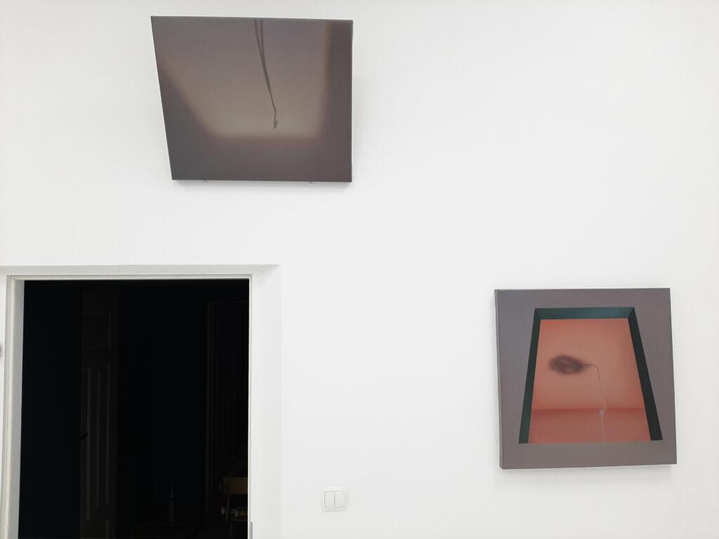 Praca Marty Kawiorskiej na wystawie Pustostan w Kąt Kultury