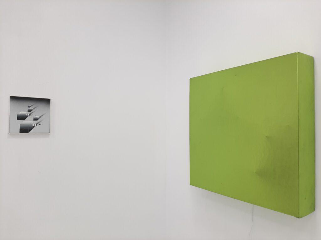 Praca Sebastiana Wywiórskiego na wystawie Pustostan w Kąt Kultury