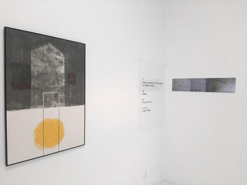 Praca Joanny Warchoł na wystawie Pustostan w Kąt Kultury